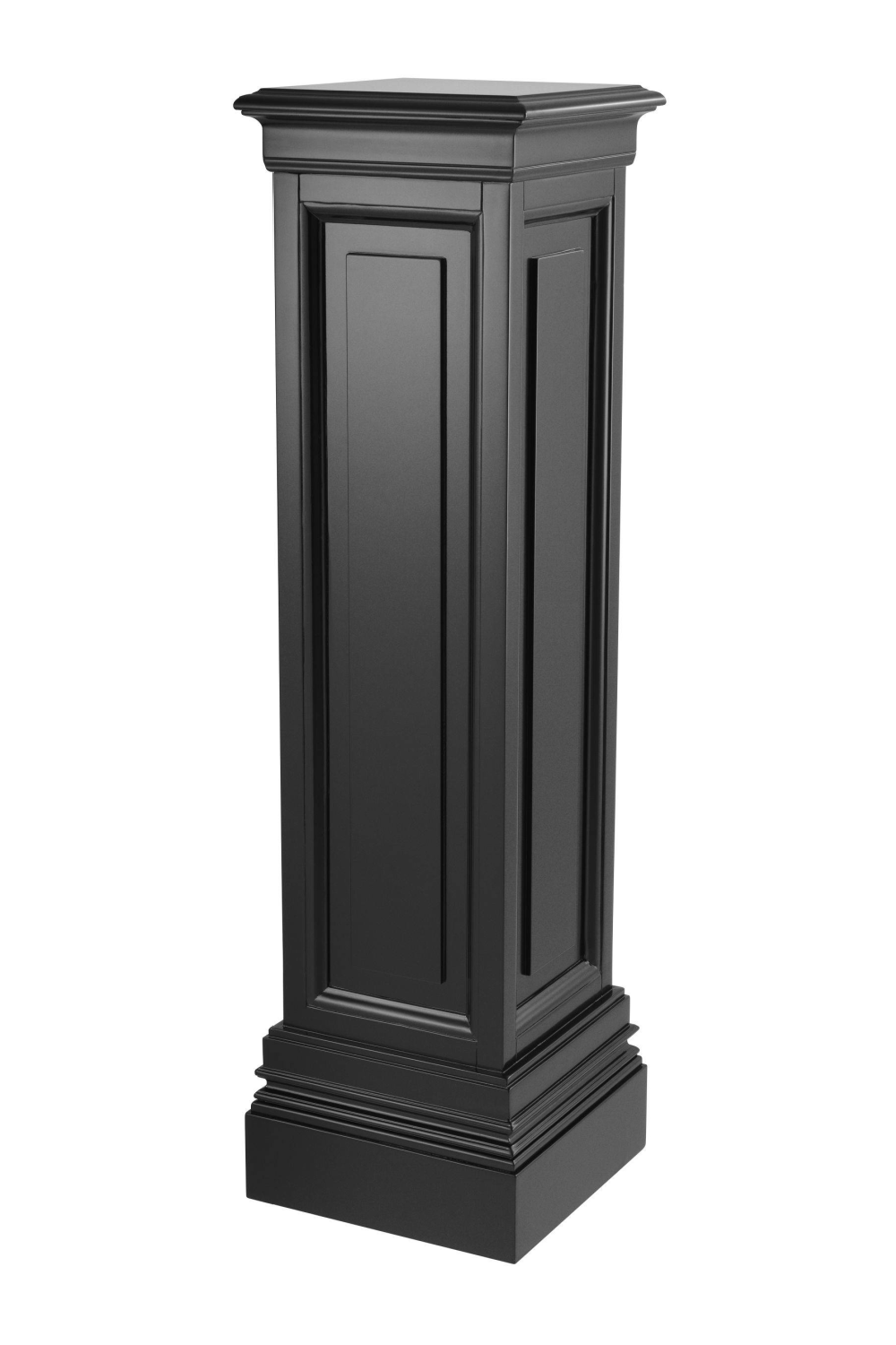 Black Wooden Column - L | Eichholtz Salvatore | Woodfurniture.com