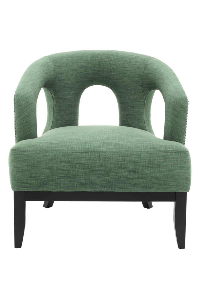 Green Upholstered Accent Chair | Eichholtz Adam |