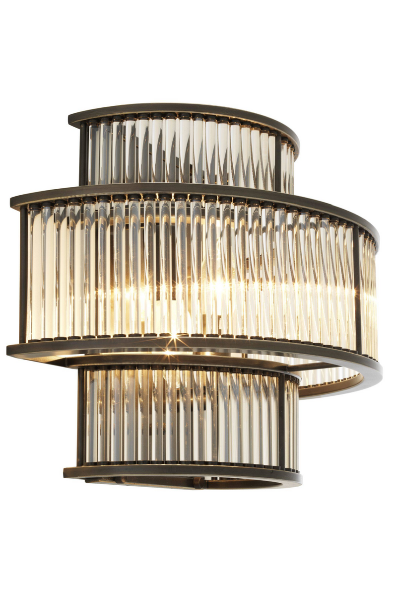 Layered Glass Wall Sconce | Eichholtz Mancini |