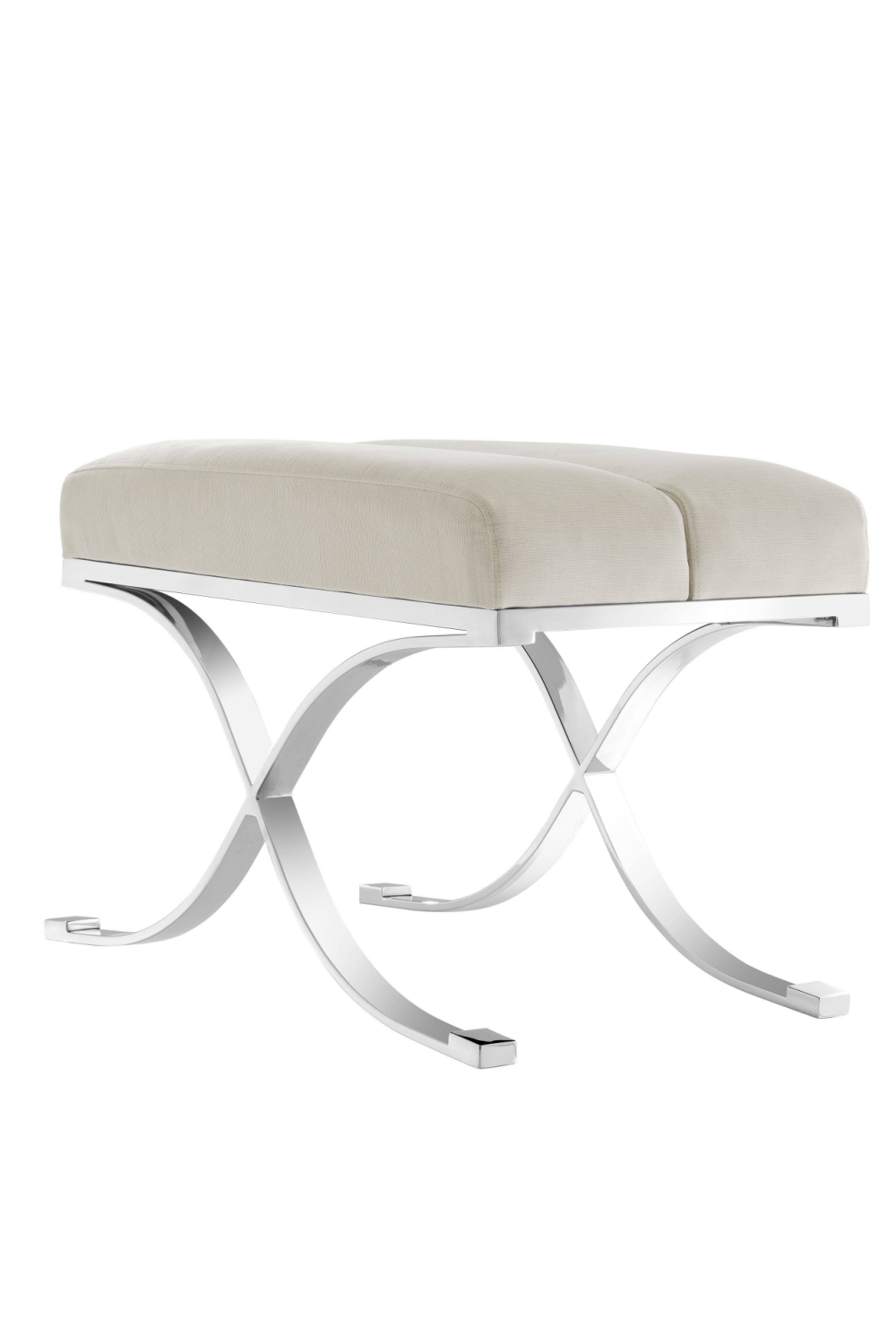 Pebble Gray Accent Stool | Eichholtz Adonia