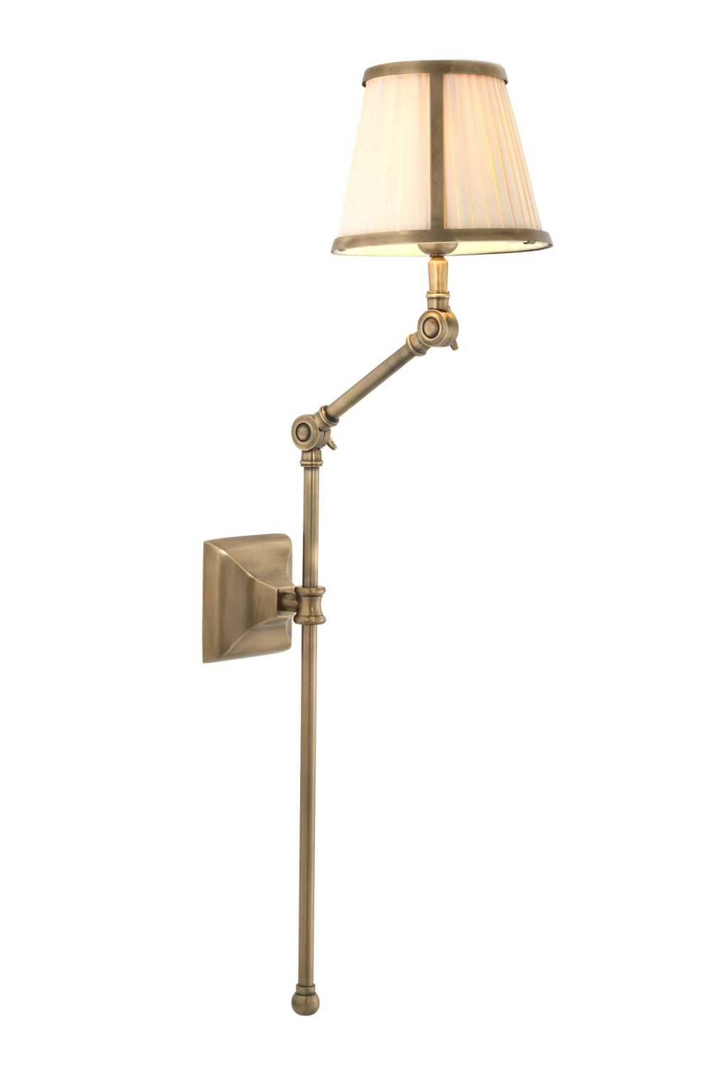 Gold Shaded Wall Lamp | Eichholtz Brunswick | OROA - Luxury Lighting