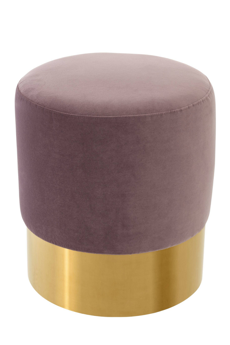 Lilac Gold Base Stool | Eichholtz Pall Mall