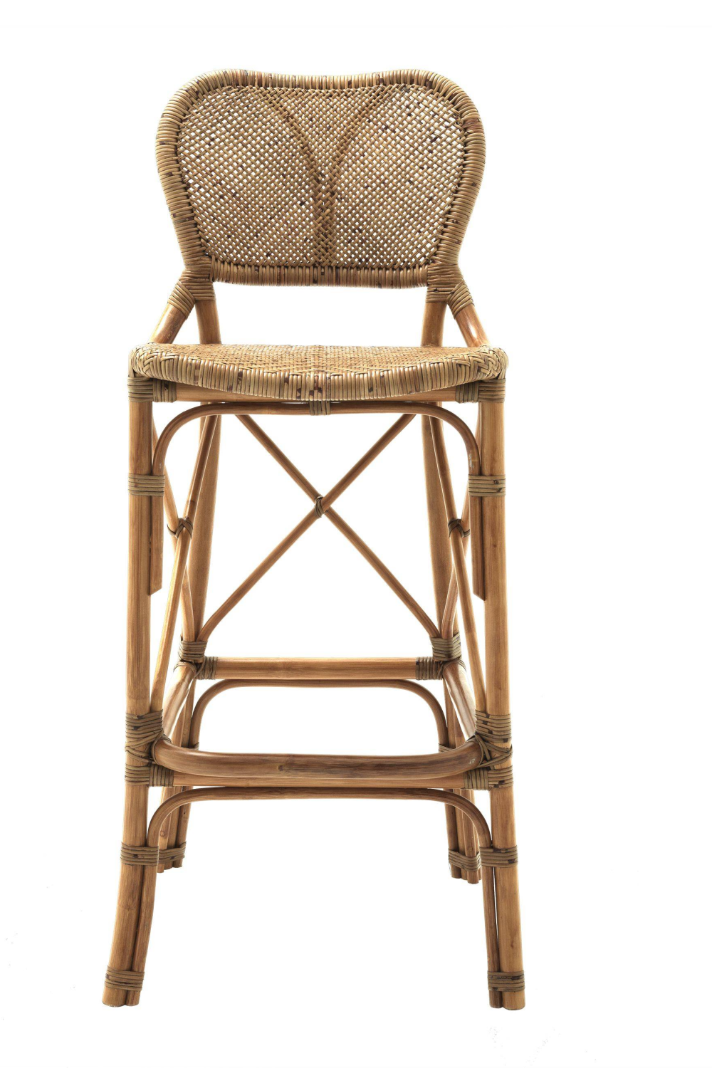 Honey Rattan Bar Stool | Eichholtz Colony