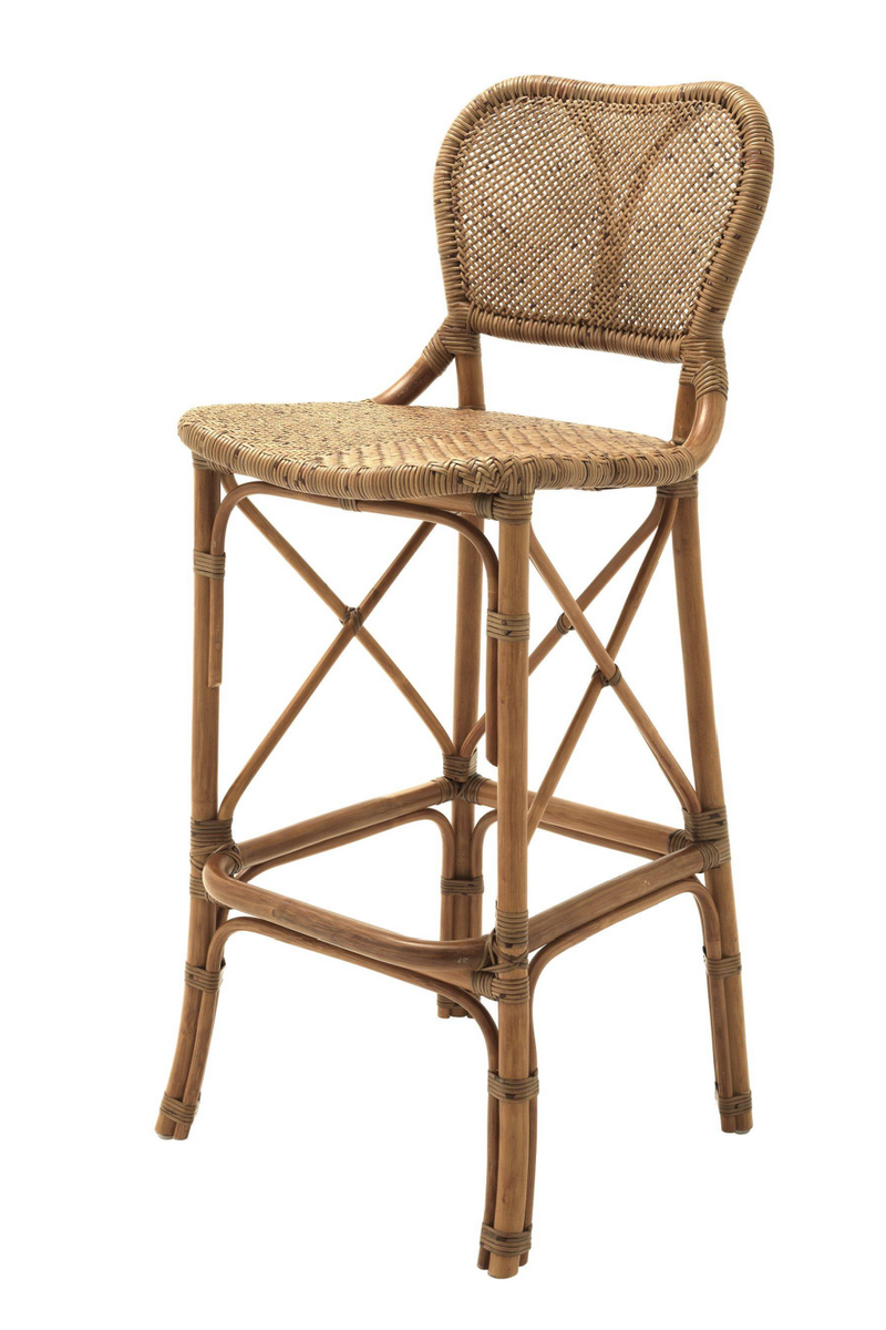 Taburete de bar Honey Rattan | Colonia Eichholtz