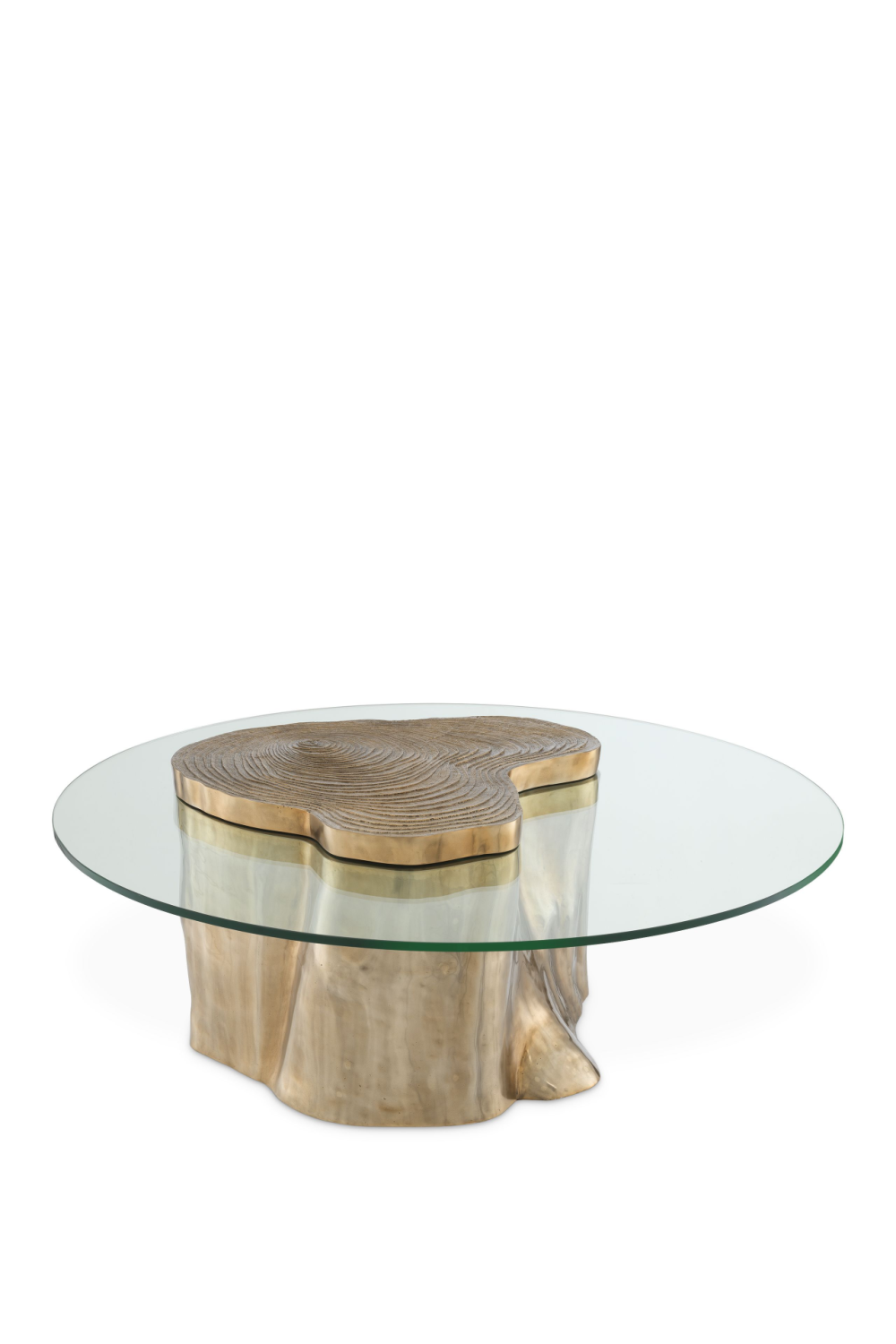 Gold Wood Stump Coffee Table | Eichholtz Urban | #1 Eichholtz Retailer