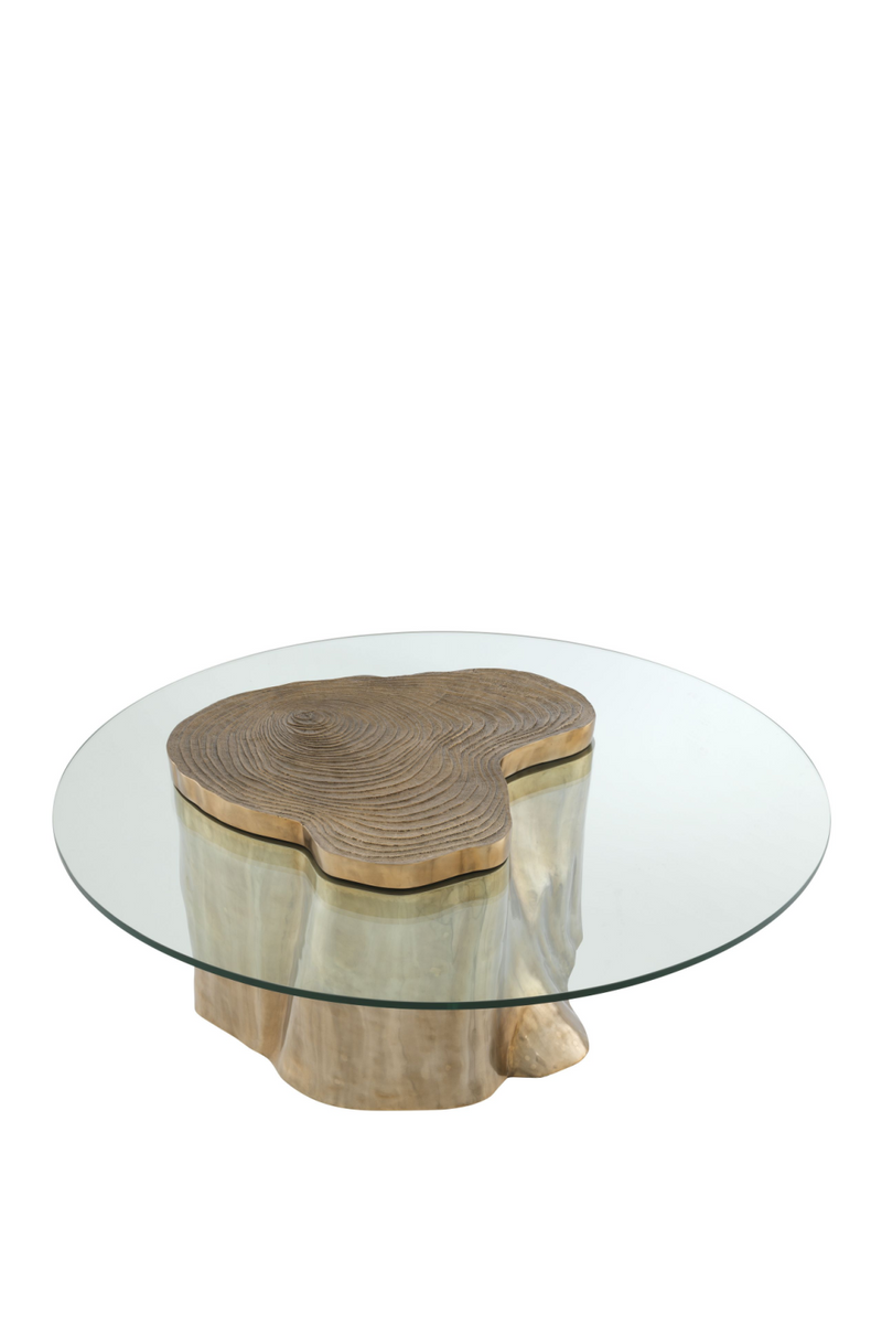 Gold Wood Stump Coffee Table | Eichholtz Urban | #1 Eichholtz forhandler