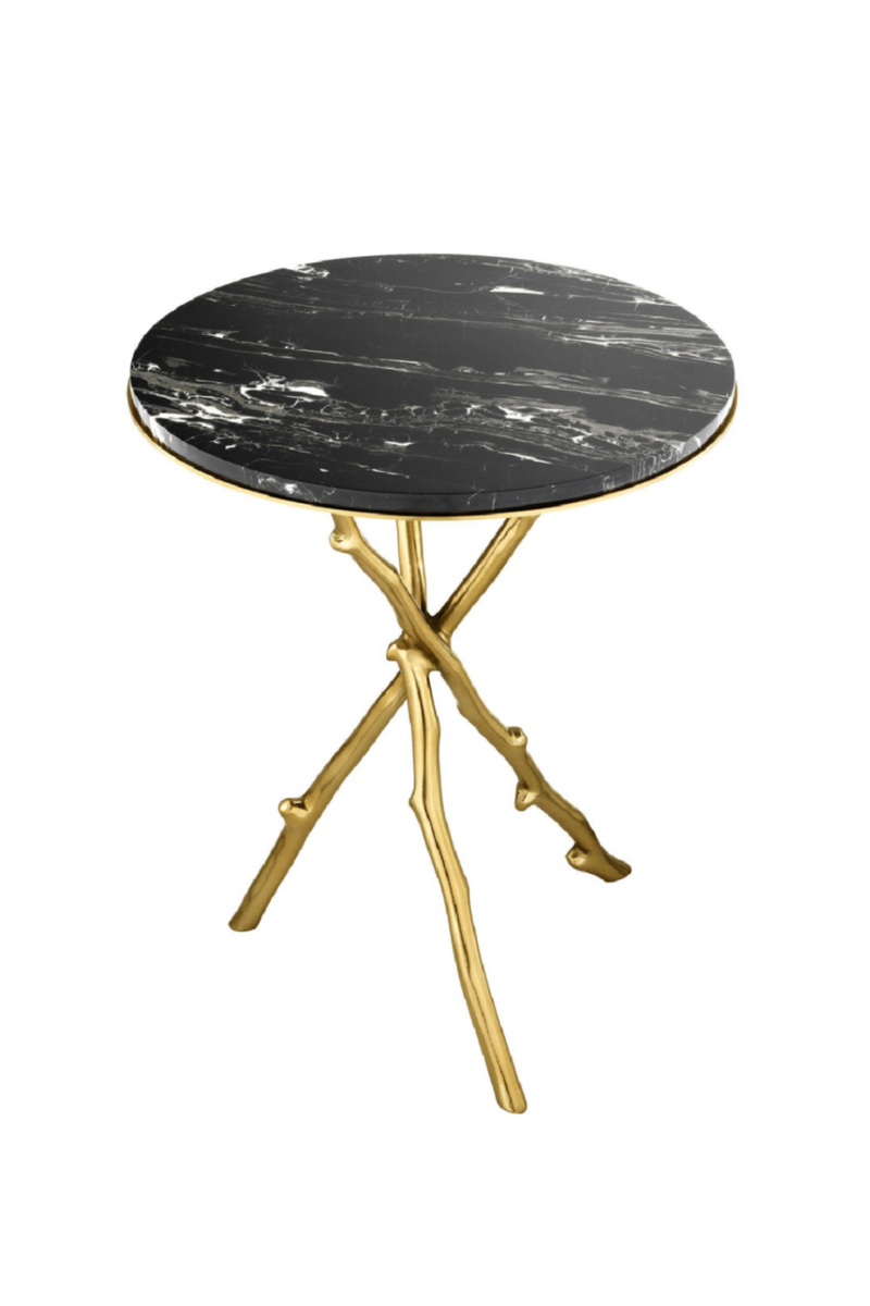 Gold Side Table | Eichholtz Westchester | OROA Moderne Møbler