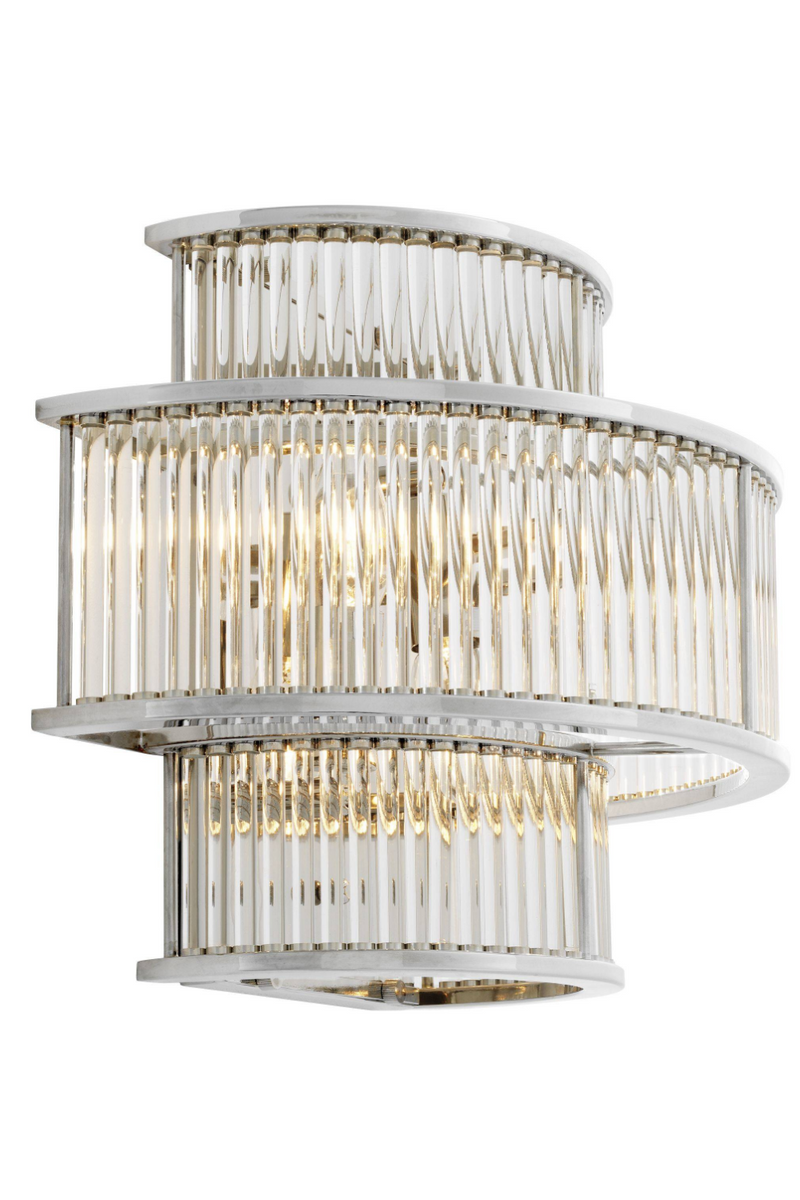 Silver Glass Wall Sconce | Eichholtz Mancini |
