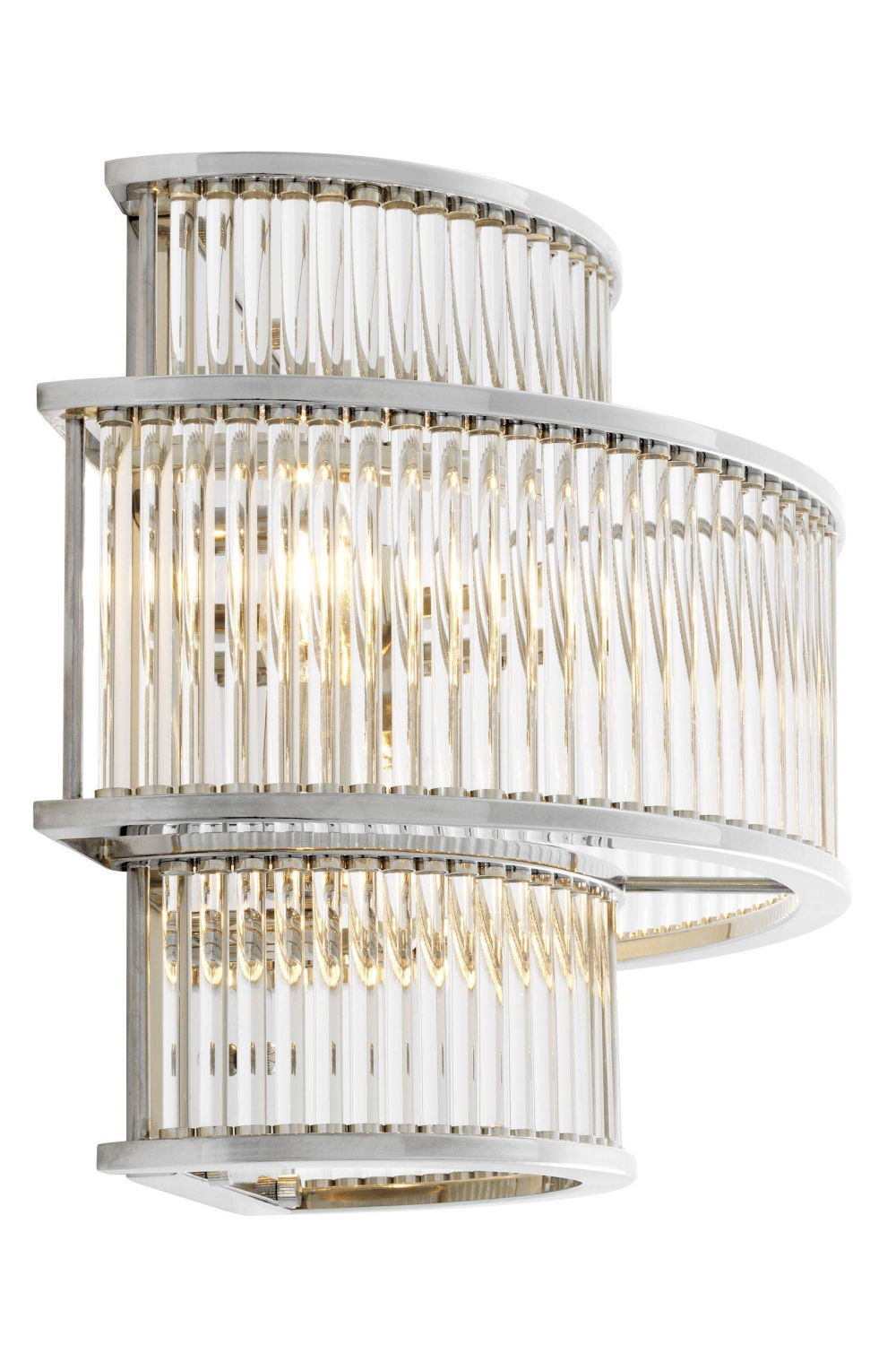 Silver Glass Wall Sconce | Eichholtz Mancini