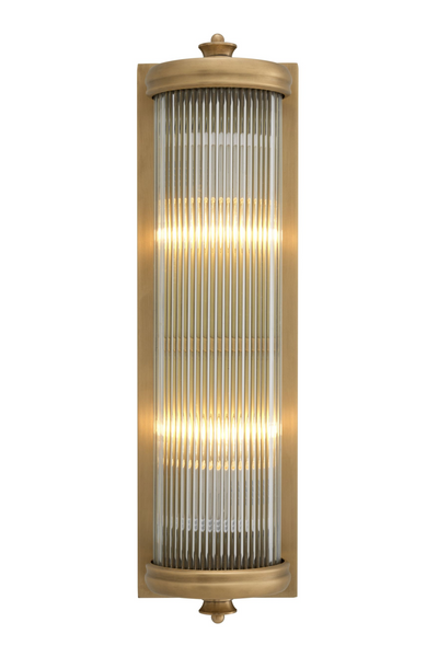 Brass Glass Wall Lamp | Eichholtz Glorious L | OROA Modern Furniture