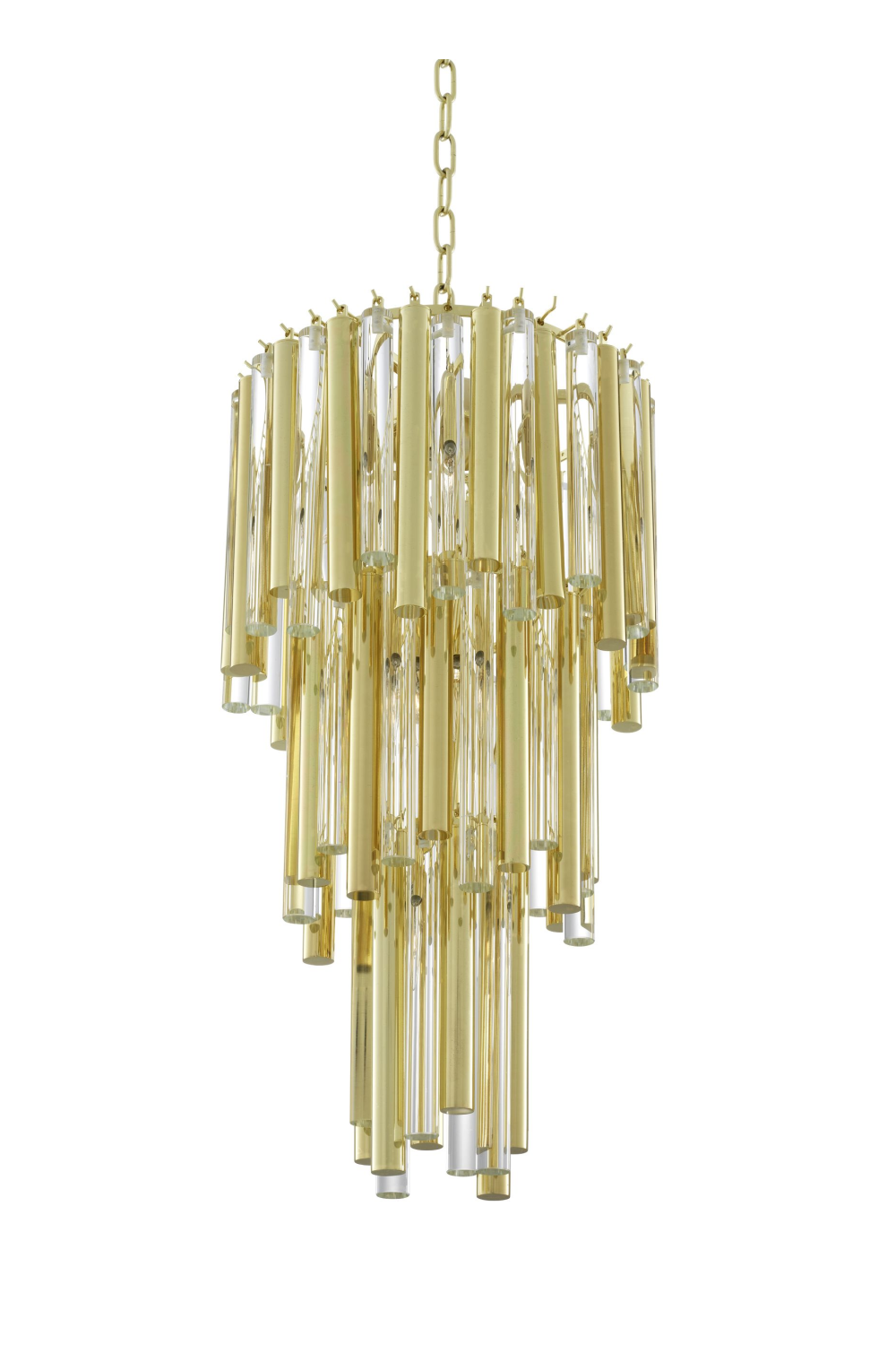 Layered Glass Chandelier | Eichholtz Gigi S