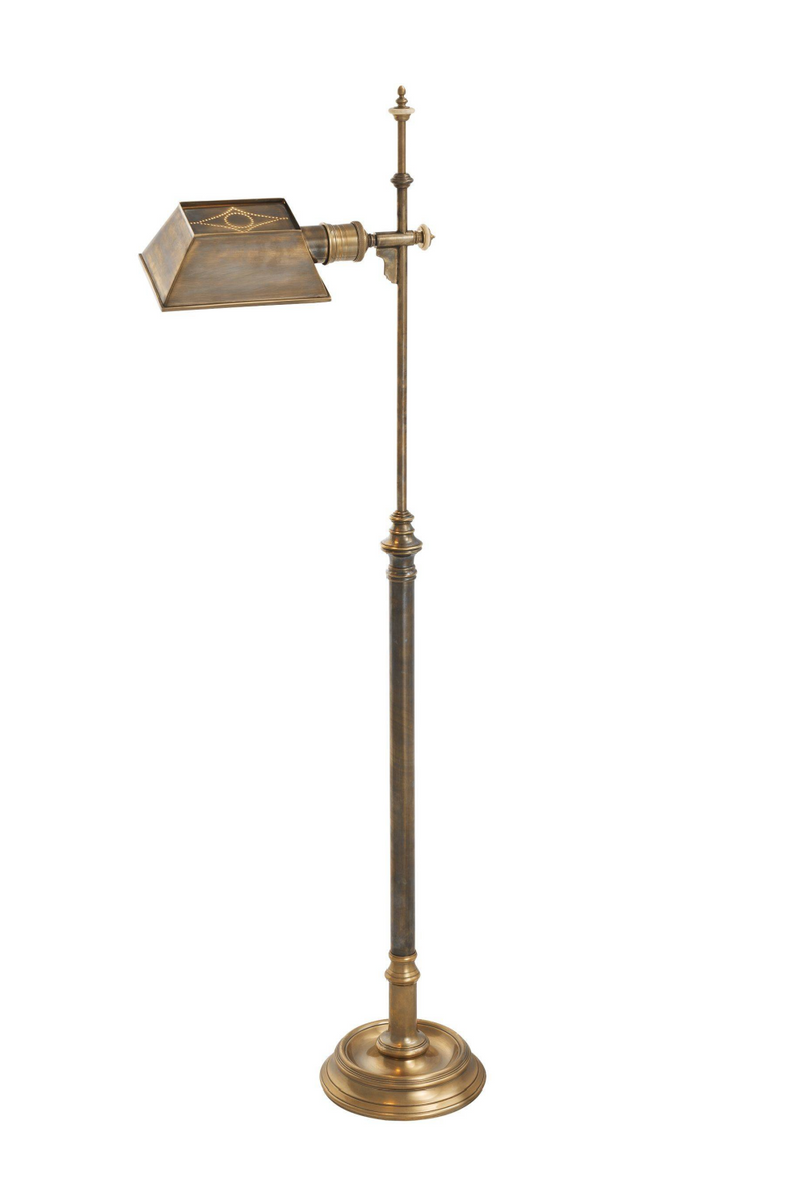 Brass Pharmacy Floor Lamp | Eichholtz Charlene