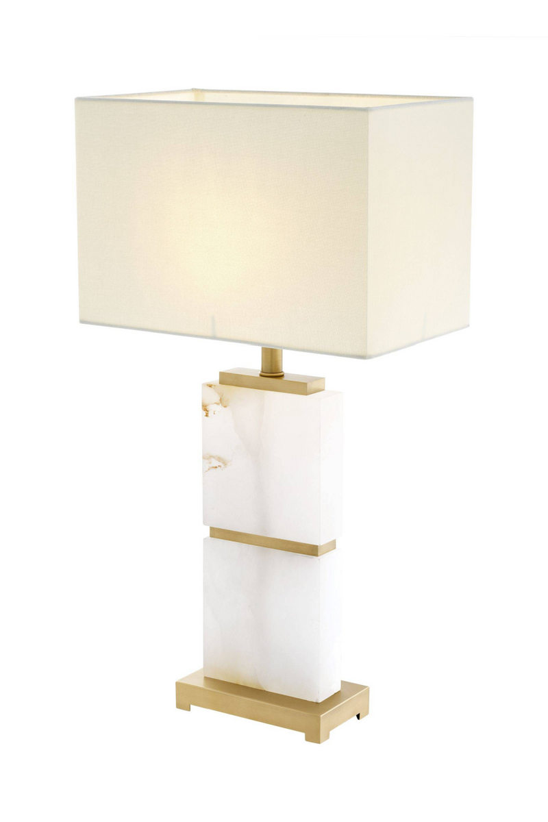 Alabaster White Marble Table Lamp | Eichholtz Robbins | OROA Furniture
