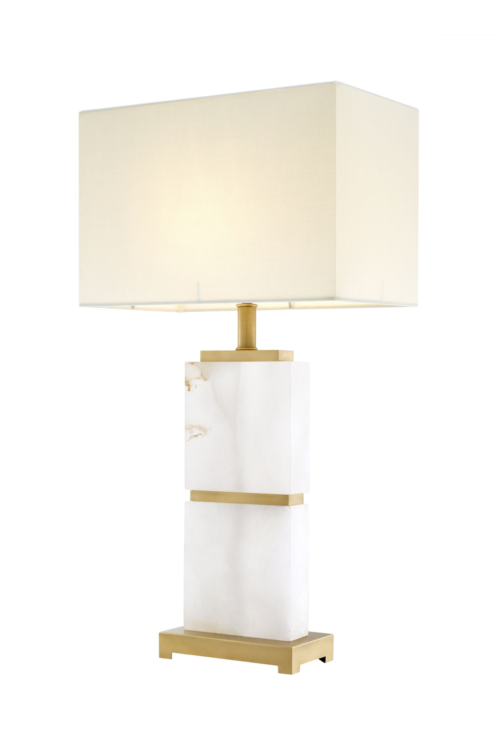 Alabaster White Marble Table Lamp | Eichholtz Robbins