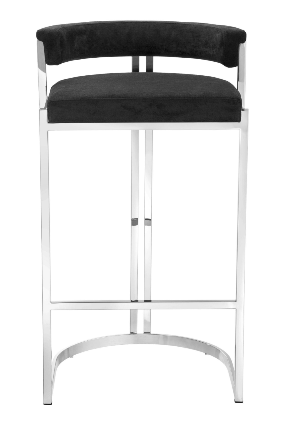 Black Velvet Bar Stool | Eichholtz Dante