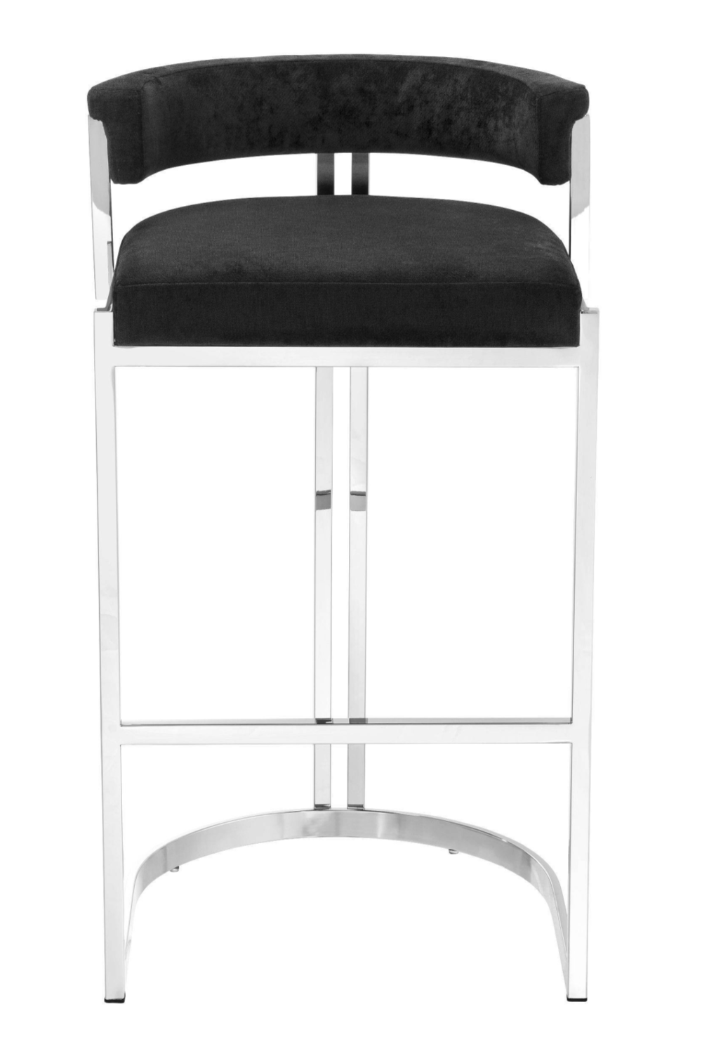 Black Velvet Counter Stool | Eichholtz Dante