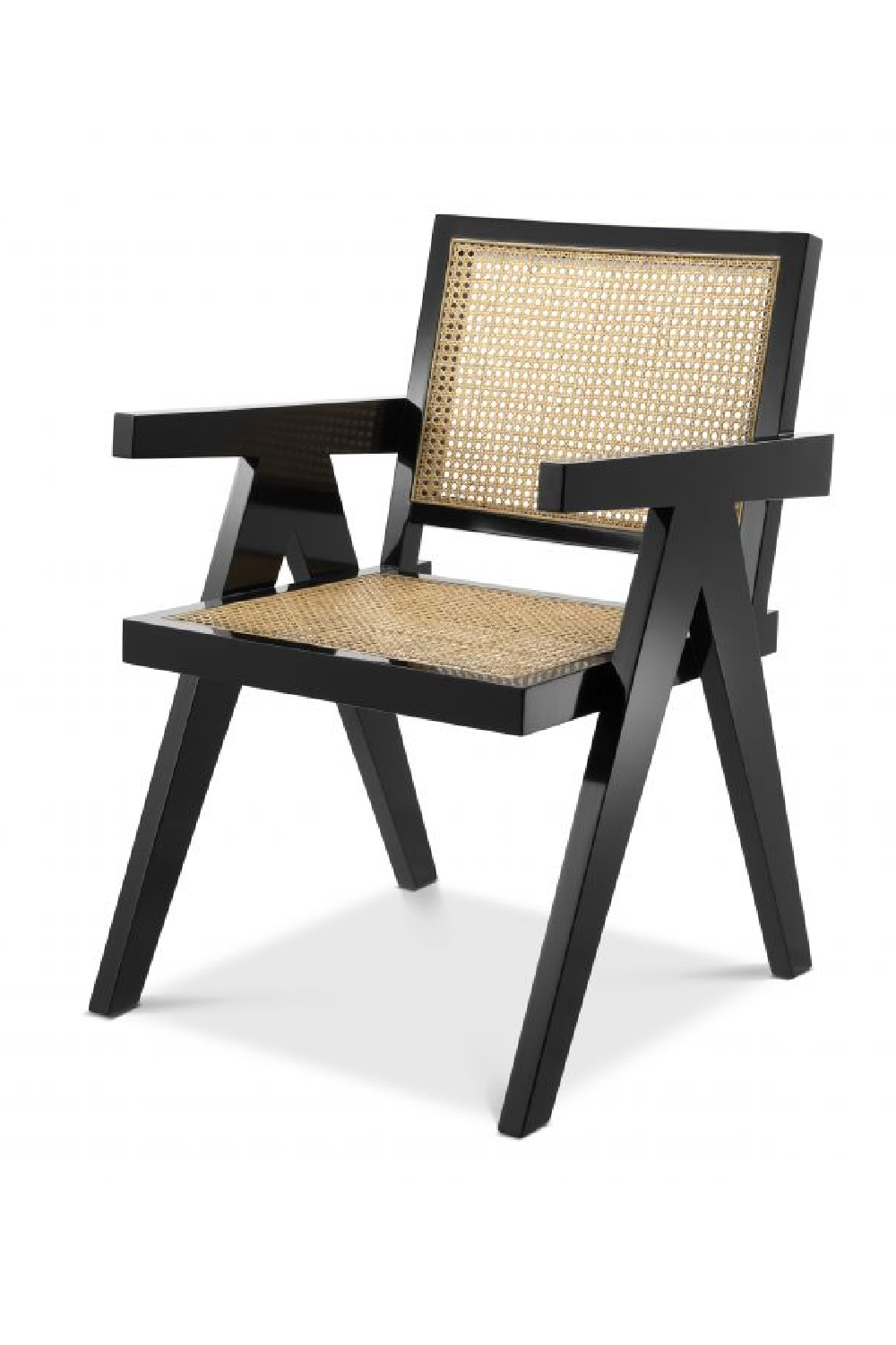 Black Cane Dining Chair | Eichholtz Adagio