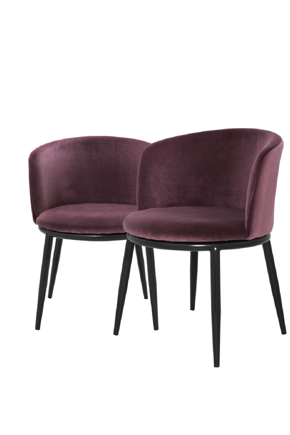 Purple Dining Chair Set Of 2 | Eichholtz Filmore