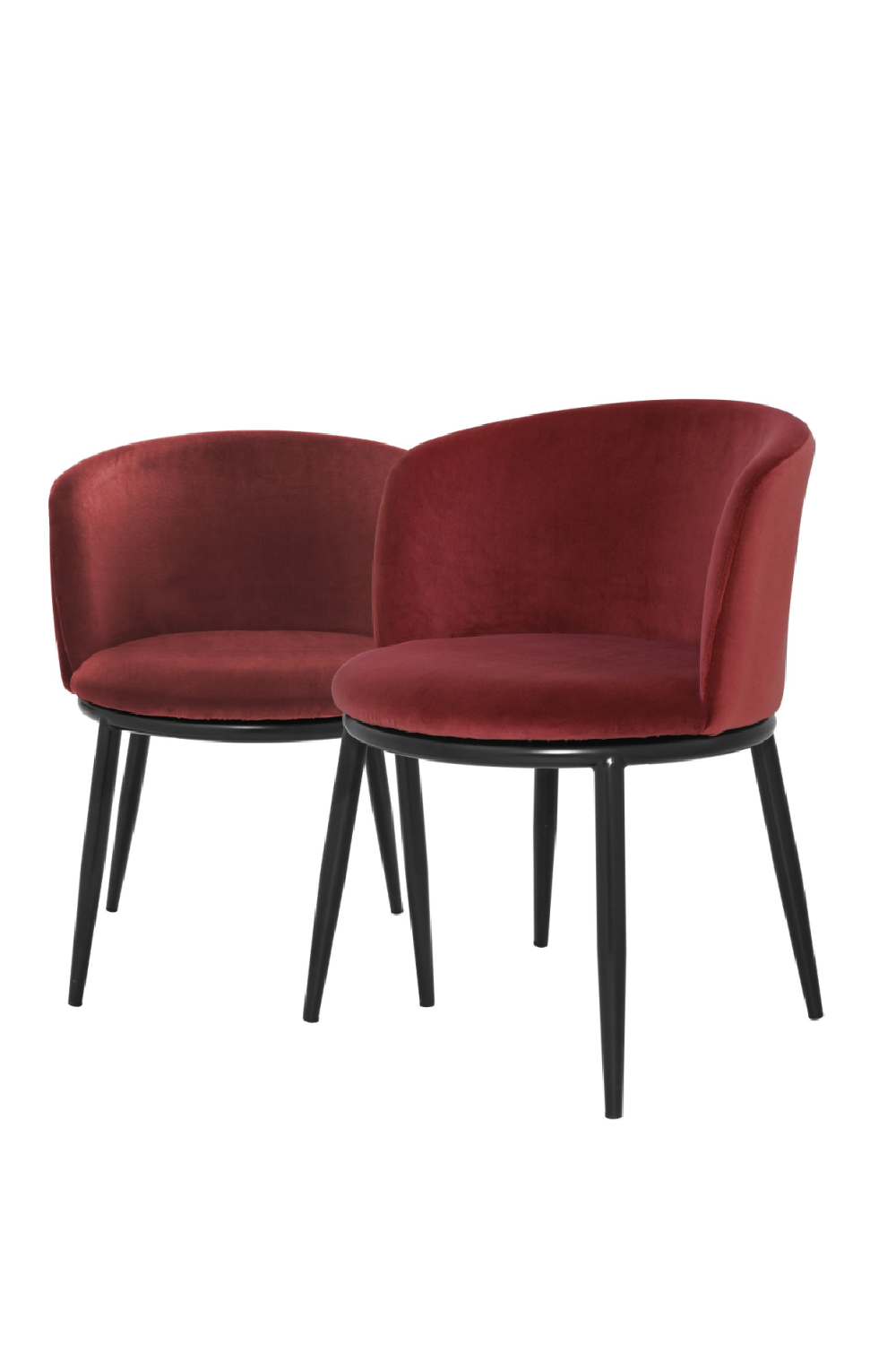 Wine Red Dining Chair Set Of 2 | Eichholtz Filmore
