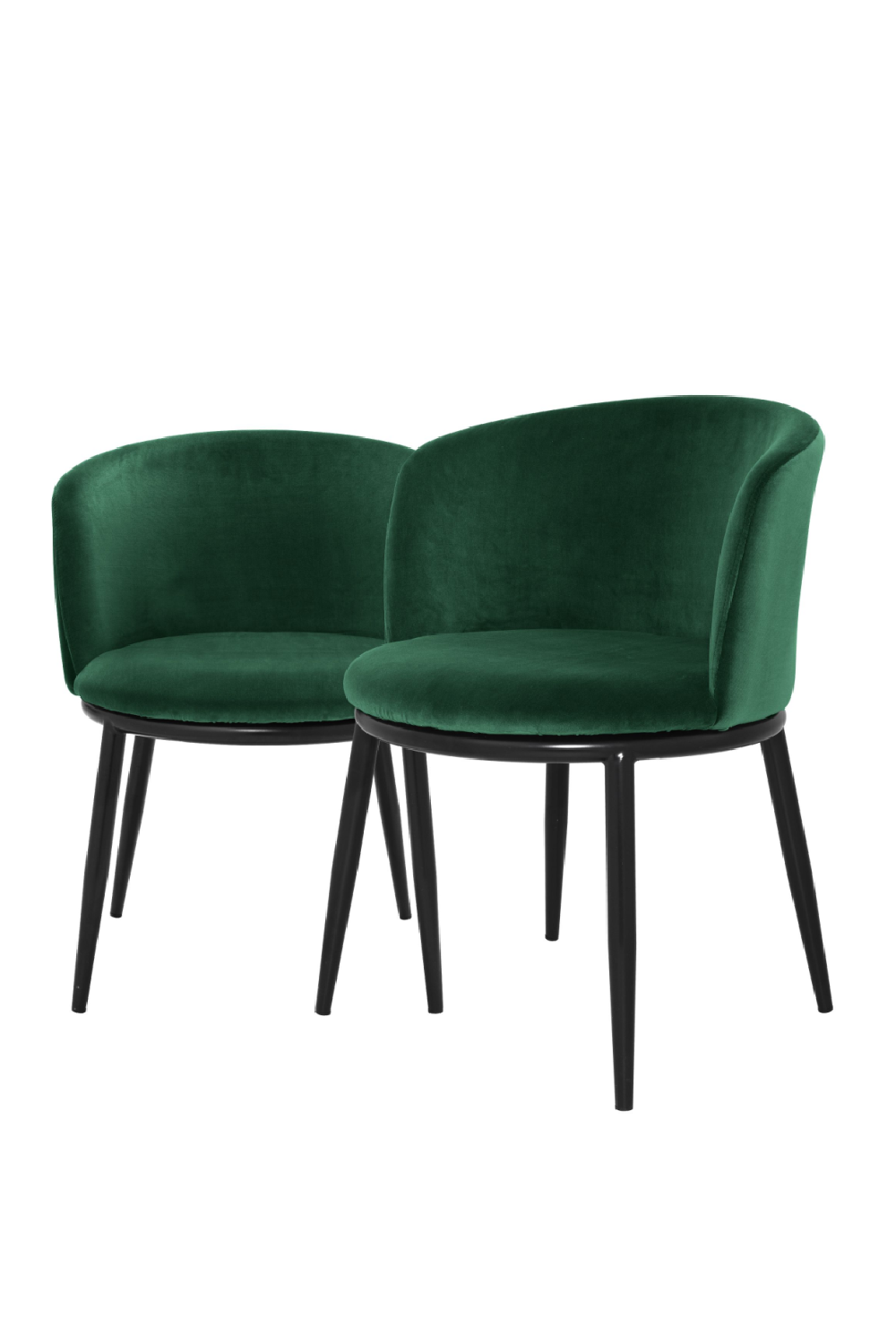 Dark Green Dining Chair Set Of 2 | Eichholtz Filmore
