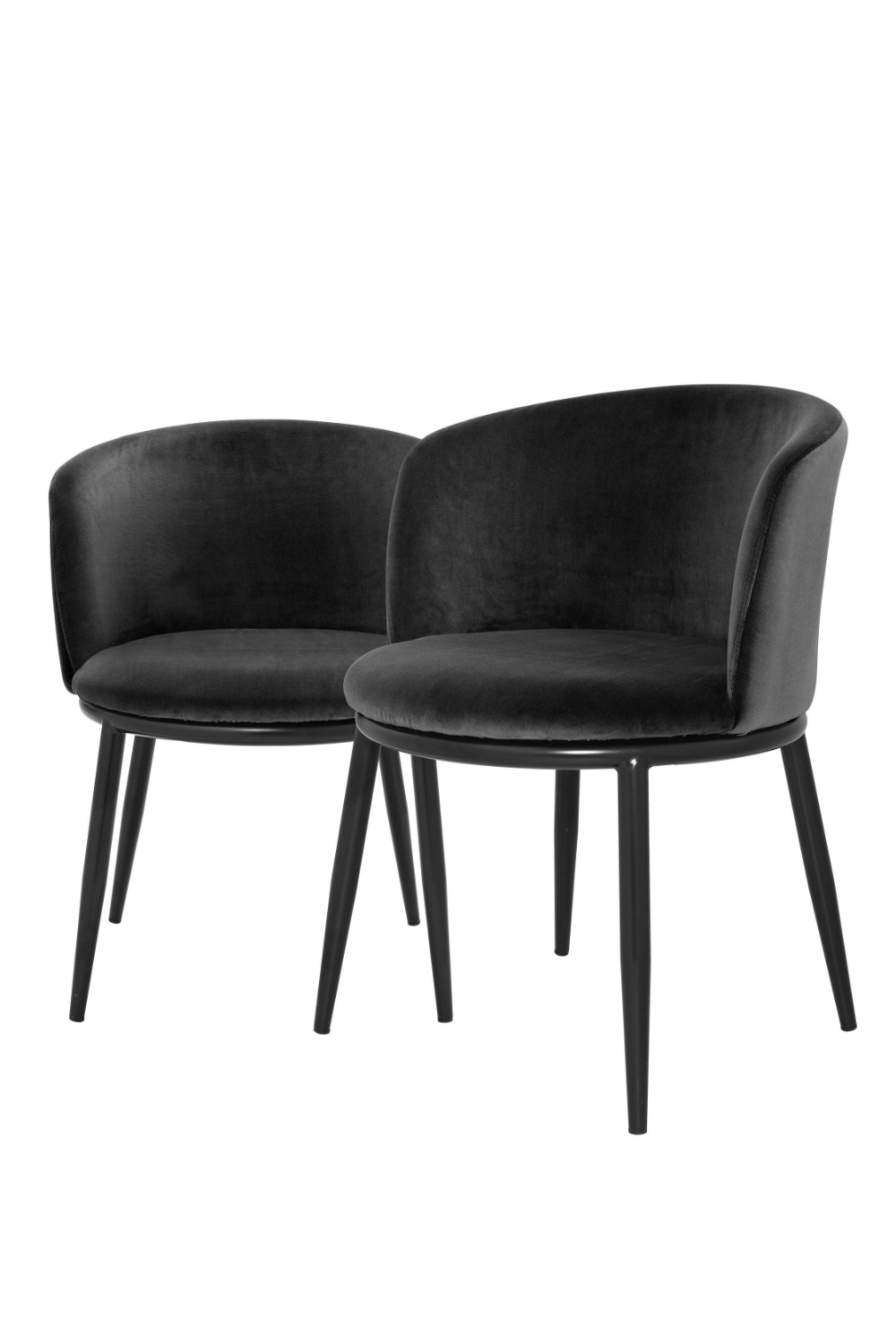 Black Dining Chair Set Of 2 | Eichholtz Filmore | #1 Eichholtz Online Retailer