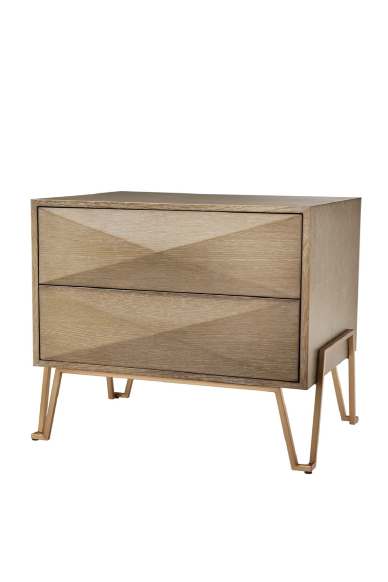 2 Drawer Hairpin Nightstand | Eichholtz Highland | Eichholtz Retailer