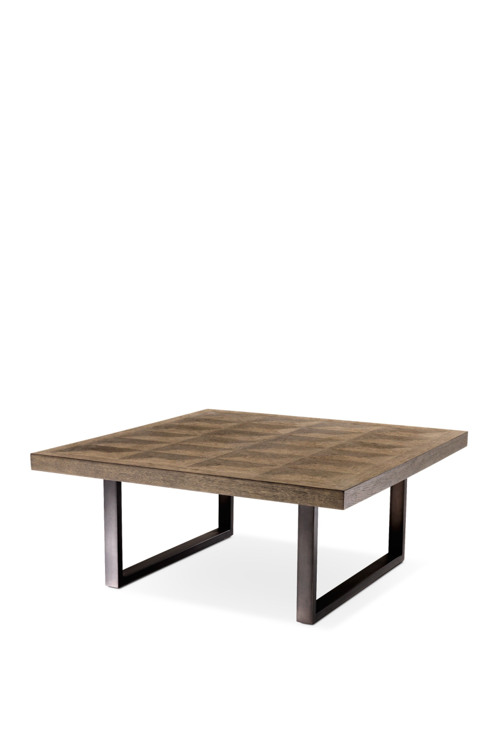 Industrial Oak Coffee Table | Eichholtz Gregorio | Woodfurniture.com