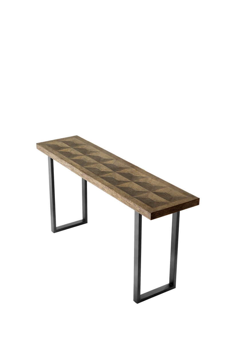 Bronze Oak Console Table | Eichholtz Gregorio