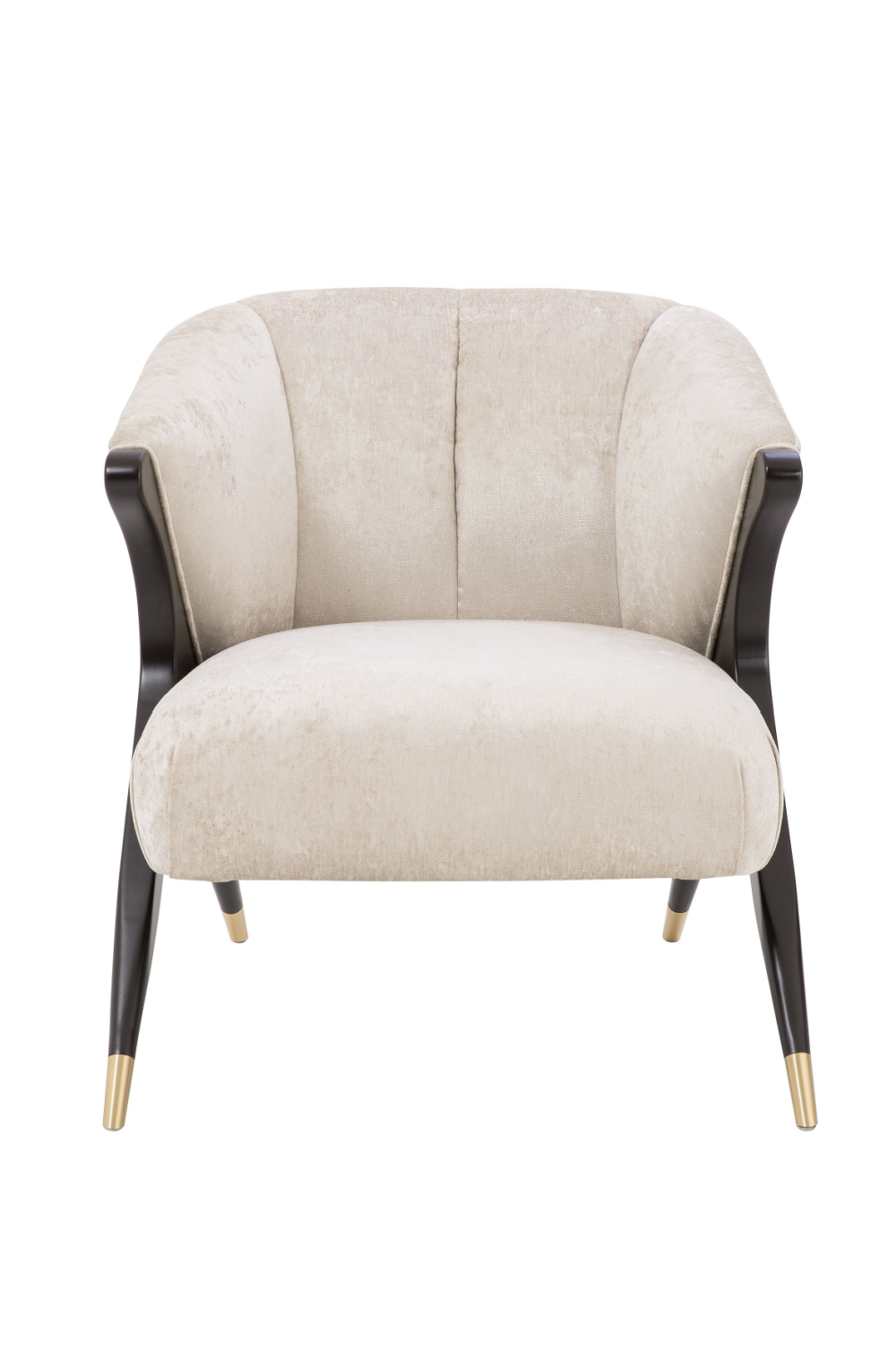 Off-White Upholstered Barrel Chair | Eichholtz Pavone | #1 Eichholtz Retailer
