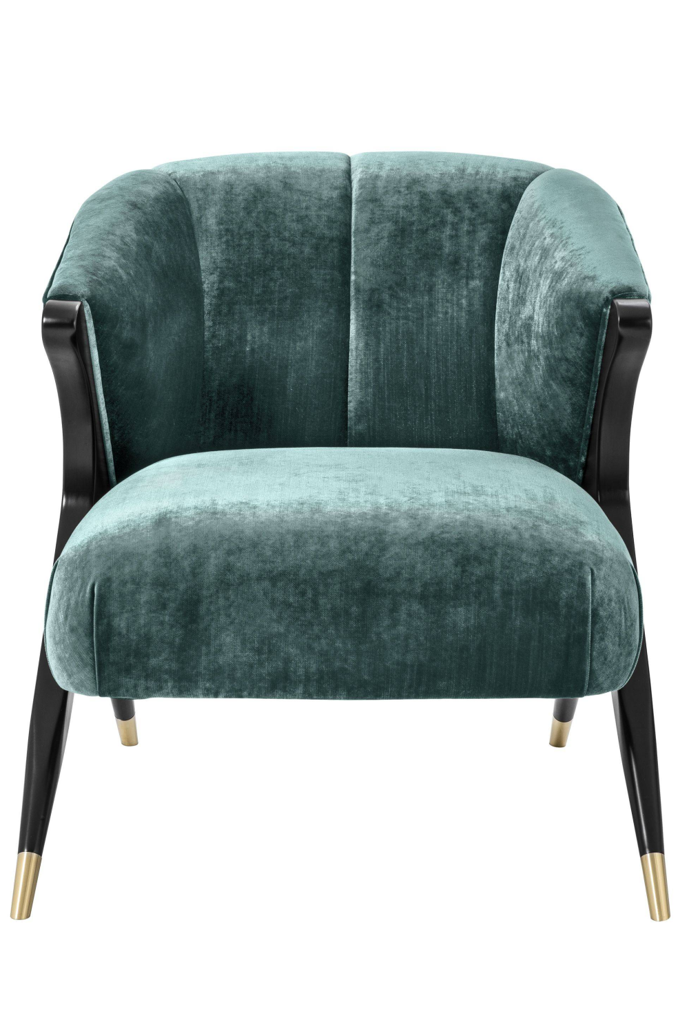 Green Upholstered Barrel Chair | Eichholtz Pavone