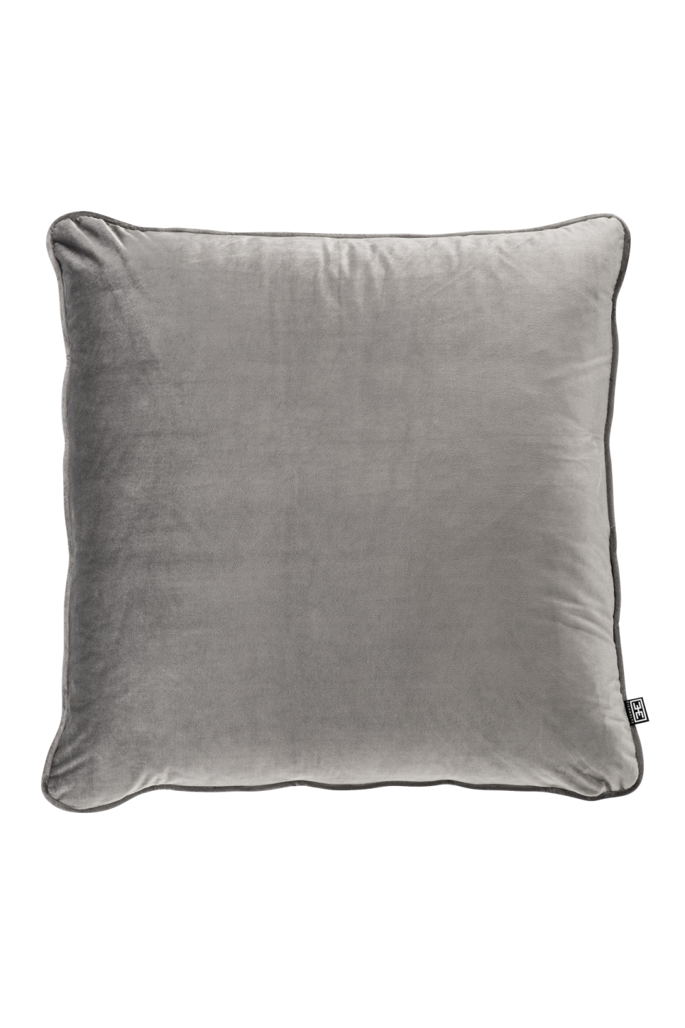 Gray Velvet Pillow | Eichholtz Roche | OROA - Modern Luxury Decor