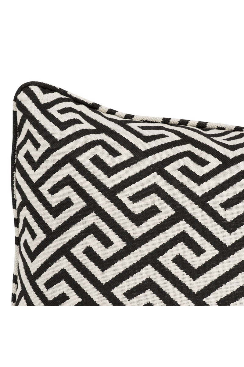 Rectangular Maze Throw Pillow | Eichholtz Dudley | OROA