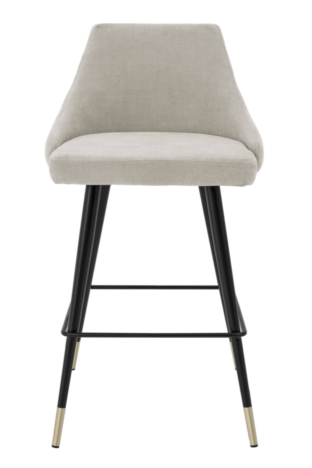 Beige Upholstered Bar Stool | Eichholtz Cedro