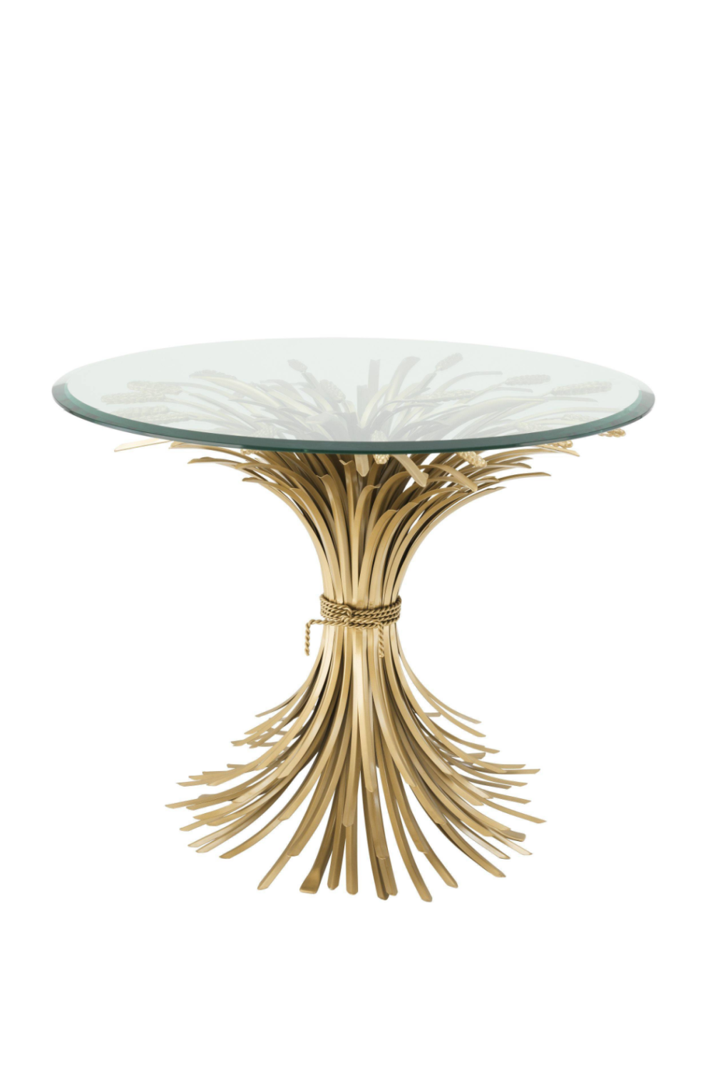 Sheaf Wheat Side Table | Eichholtz Bonheur L