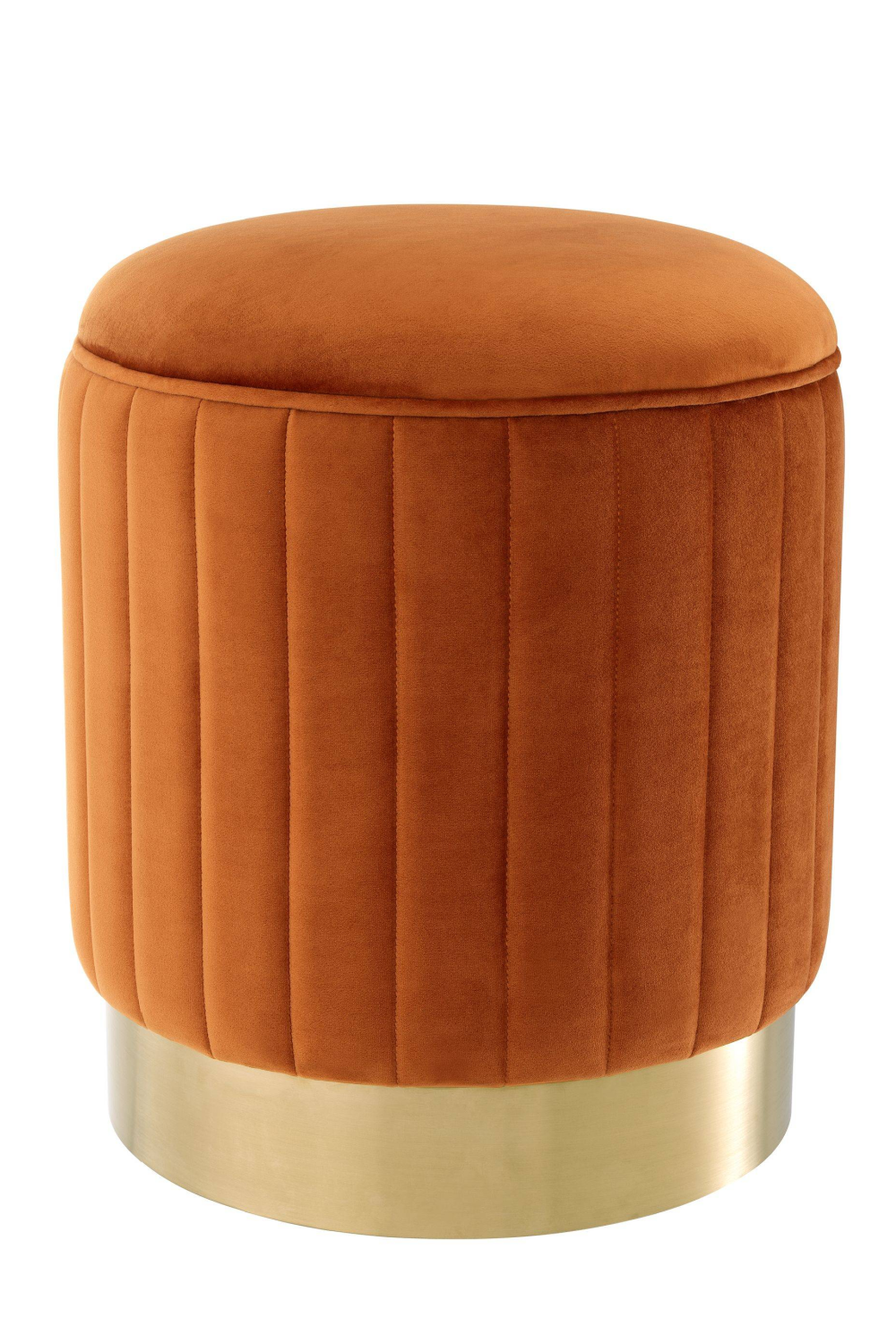 Orange Gold Base Stool | Eichholtz Allegra