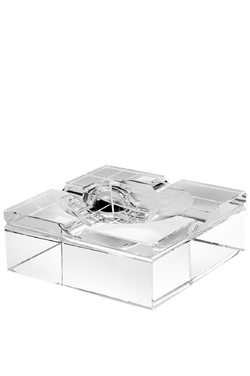 Crystal Glass Ashtray | Eichholtz Acolyte