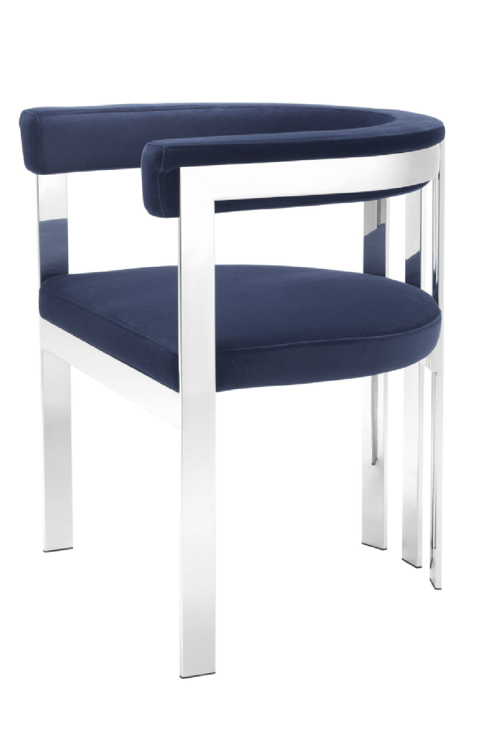Modern Silver Dining Chair | Eichholtz Clubhouse | OROA Furniture
