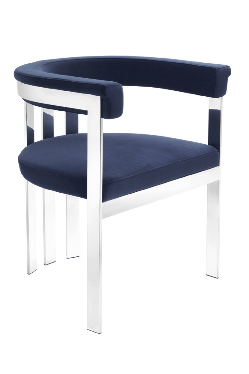Modern Silver Dining Chair | Eichholtz Clubhouse
