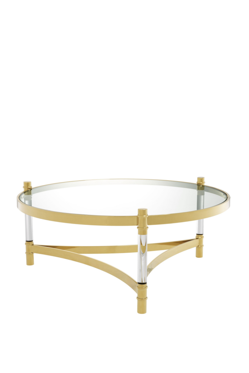 Round Gold Coffee Table | Eichholtz Trento |
