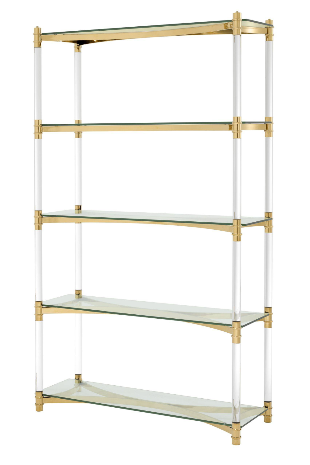 5 Shelf Gold Cabinet | Eichholtz Trento