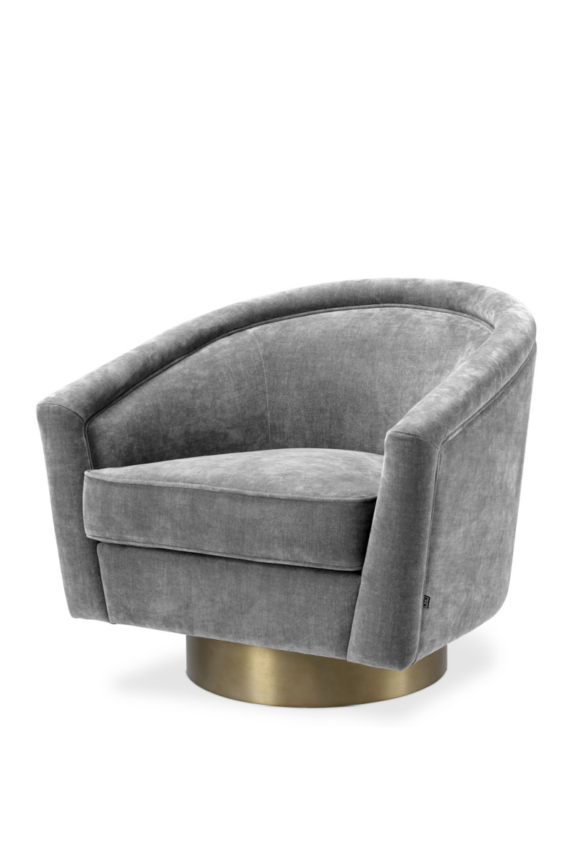 Gray Swivel Barrel Chair | Eichholtz Catene | #1 Eichholtz Retailer