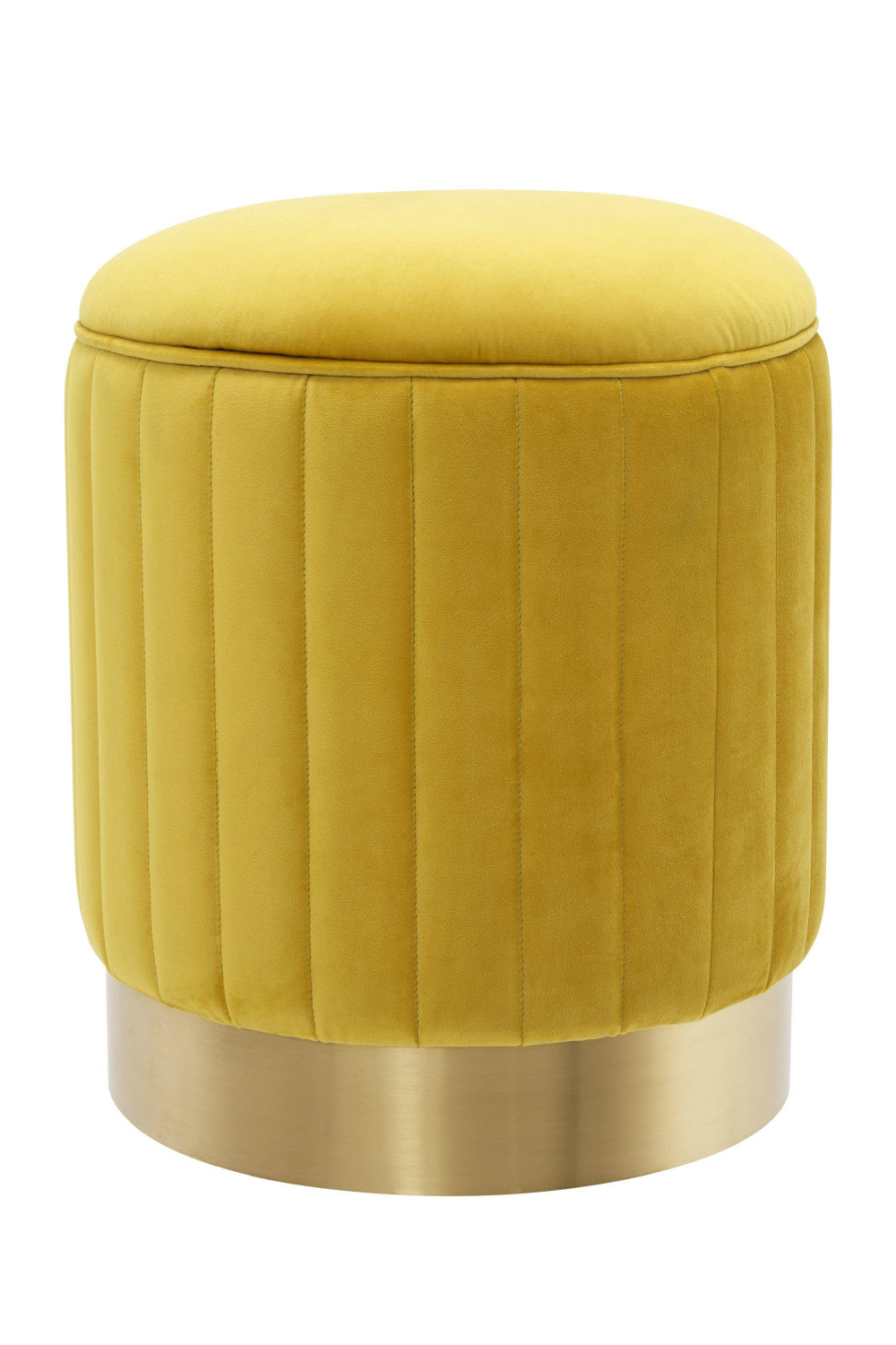 Yellow Gold Base Stool | Eichholtz Allegra | #1 Eichholtz Online Retailer