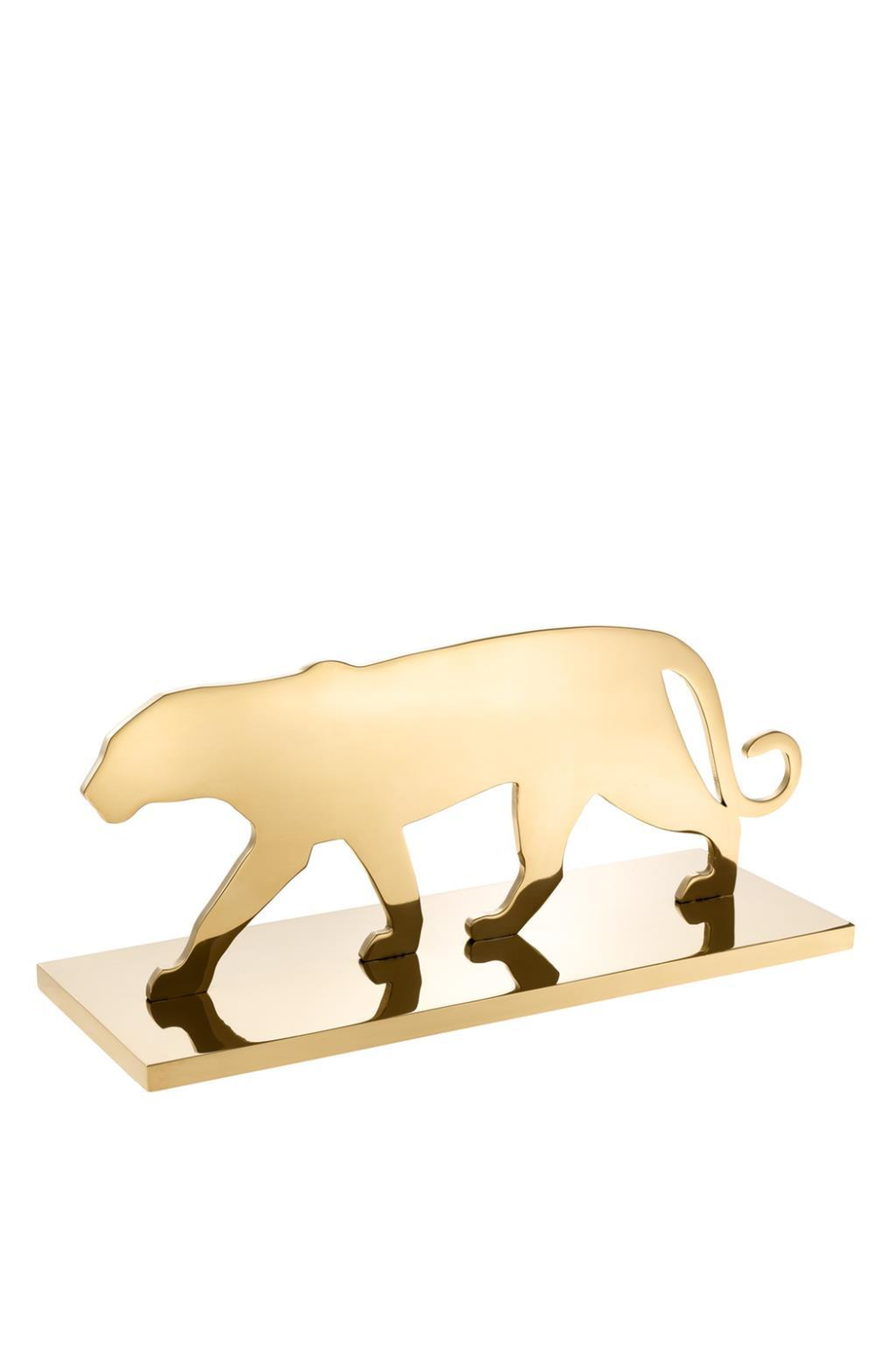 Gold Decorative Object | Eichholtz Panther Silhouette | OROA