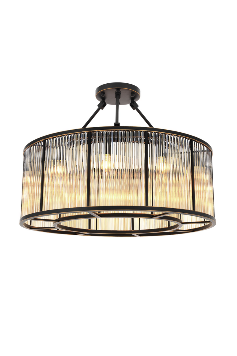 Glass Drum Ceiling Lamp | Eichholtz Bernardi
