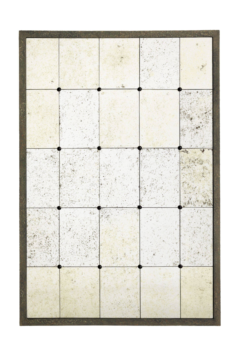Antique Glass Tiles Full Wall Mirror | Eichholtz Cervilla