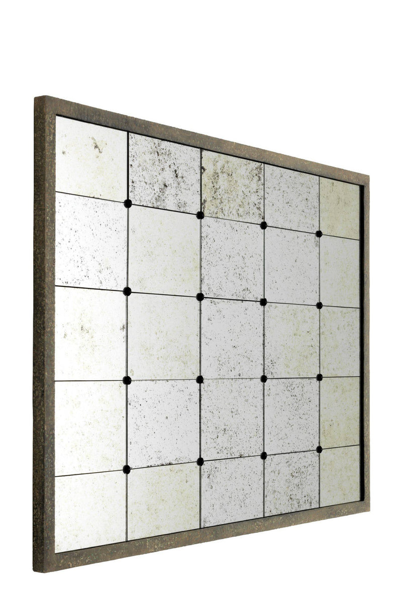 Antique Glass Tiles Full Wall Mirror | Eichholtz Cervilla | OROA Decor
