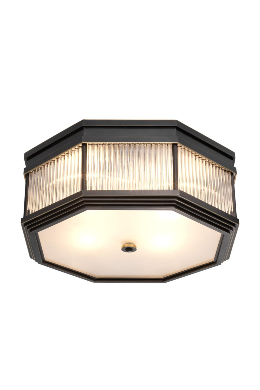 Bronze Geometric Flush Mount | Eichholtz Bagatelle