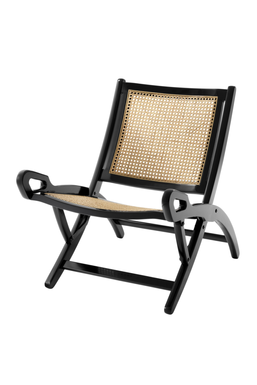 Natural Cane Folding Chair | Eichholtz Dimono | #1 Eichholtz Retailer