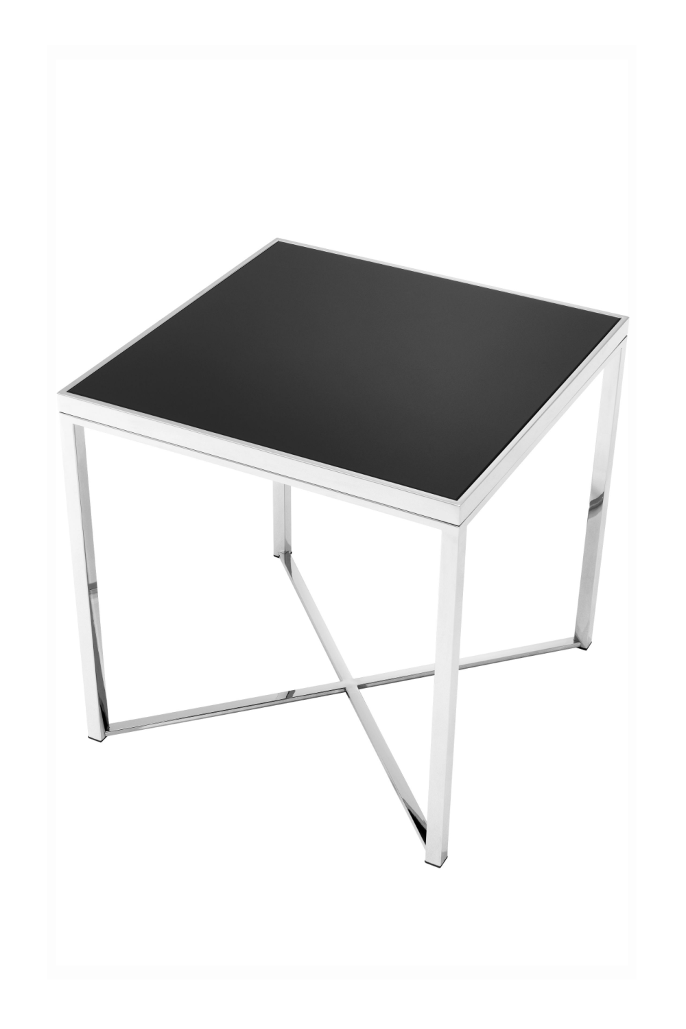 Black Glass Side Table | Eichholtz Labyrinto | #1 Eichholtz Retailer