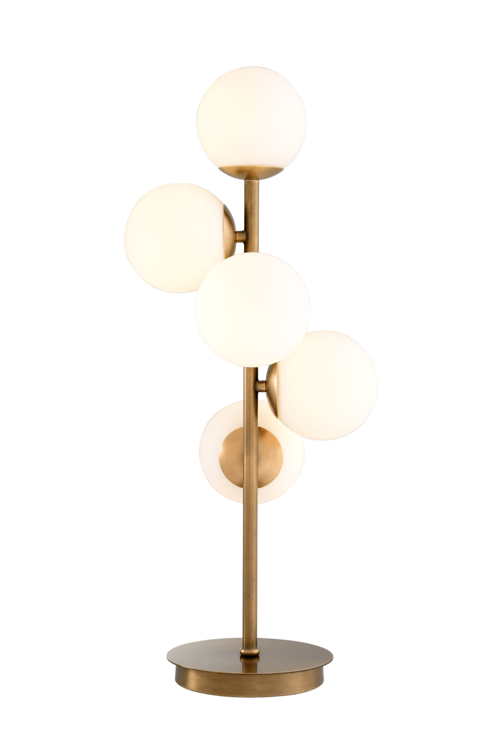 White Glass Multi Globe Table Lamp | Eichholtz Libris